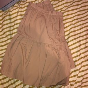 Madewell Tan Skirt